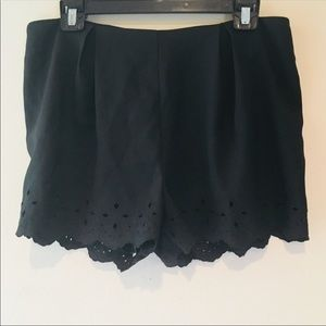 NWT FRANCESCA'S COLLECTION/ HARPER BLACK SHORTS